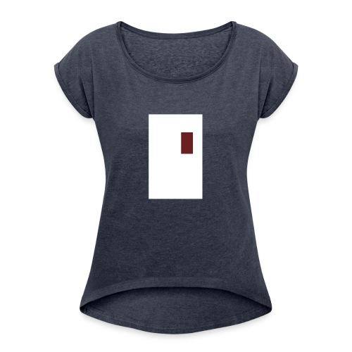 meta - Women's Roll Cuff T-Shirt