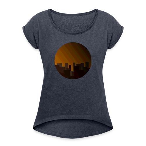 Skyline - Women's Roll Cuff T-Shirt