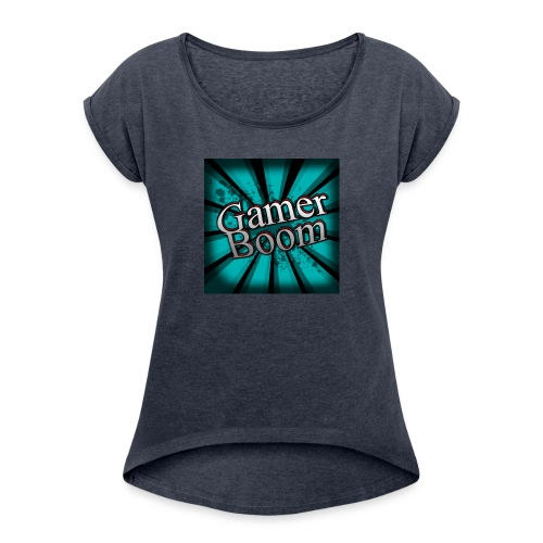 Lo Mejor de GamerBoom - Women's Roll Cuff T-Shirt
