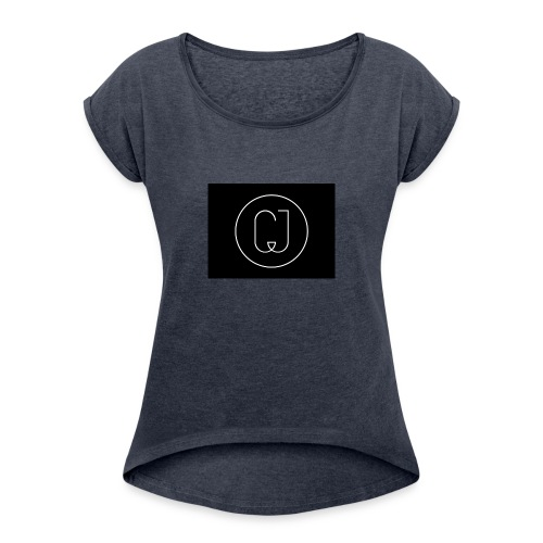 CJ - Women's Roll Cuff T-Shirt