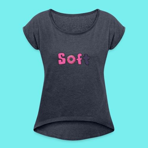 app - Women's Roll Cuff T-Shirt