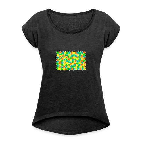 Dynamic movement - Women's Roll Cuff T-Shirt