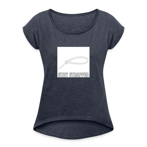 Cable tie - Women's Roll Cuff T-Shirt