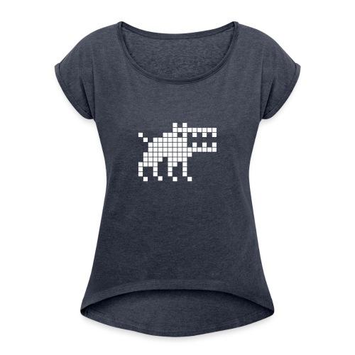Dottweiler - Women's Roll Cuff T-Shirt