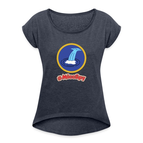 Jungle Cruise Explorer Badge - Women's Roll Cuff T-Shirt