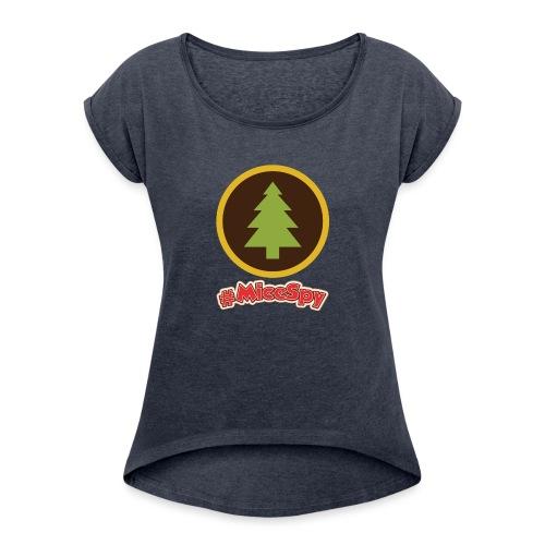 Redwood Creek Explorer Badge - Women's Roll Cuff T-Shirt