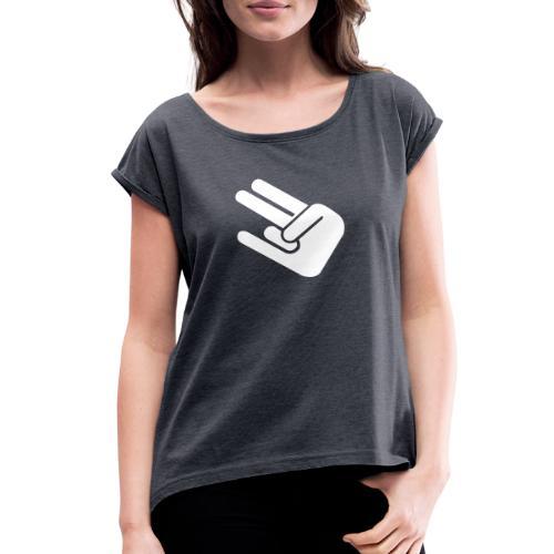 The Shocker - Women's Roll Cuff T-Shirt