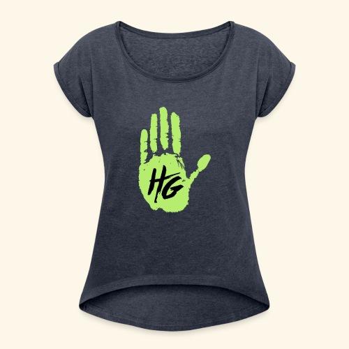 Hand Grown - Women's Roll Cuff T-Shirt