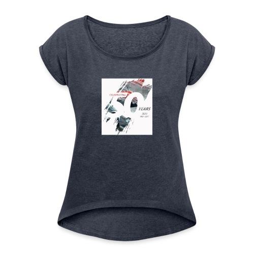 Datsun Sports Nationals 2017 - Women's Roll Cuff T-Shirt