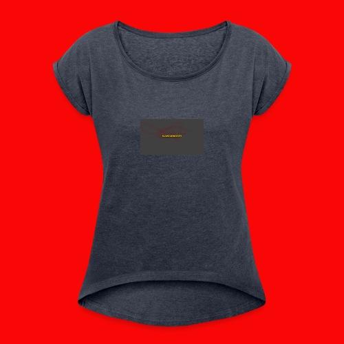 BladeSwinger TV Men - Women's Roll Cuff T-Shirt