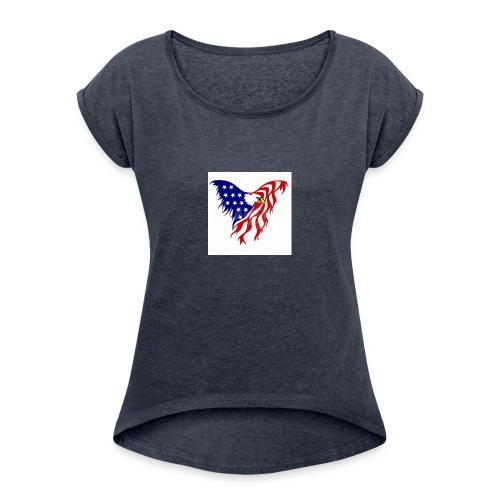 Tint 20180317 173040 - Women's Roll Cuff T-Shirt