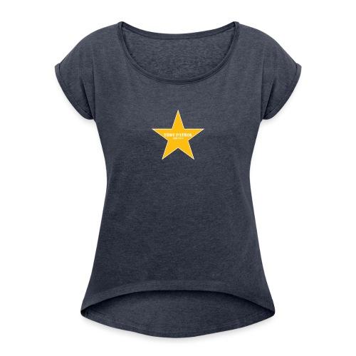 Thot Patrol Emblem - Women's Roll Cuff T-Shirt