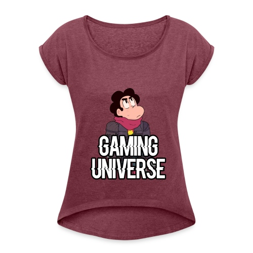 Gaming Universe SU T-Shirt - Women's Roll Cuff T-Shirt