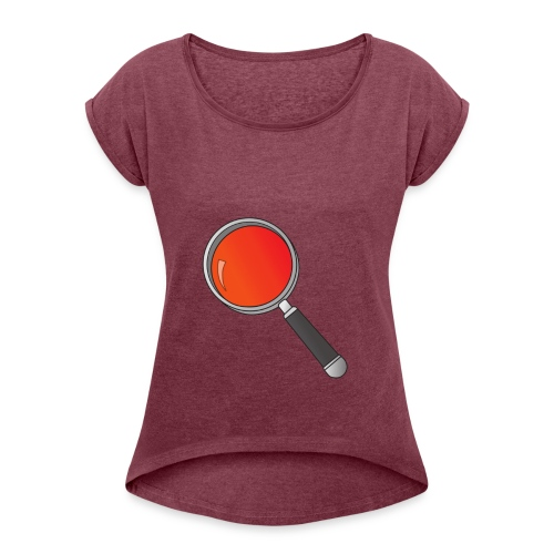 RedishPlot - Women's Roll Cuff T-Shirt