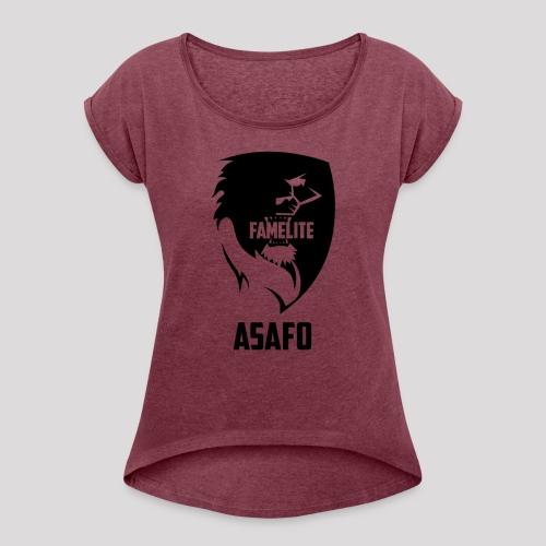 FamElite Asafo - Women's Roll Cuff T-Shirt