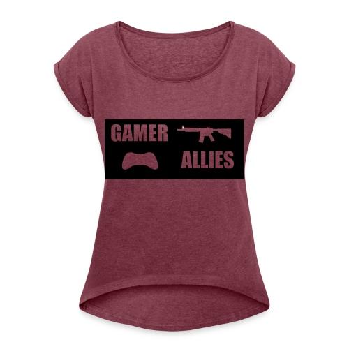 GAMER WEAR - Women's Roll Cuff T-Shirt