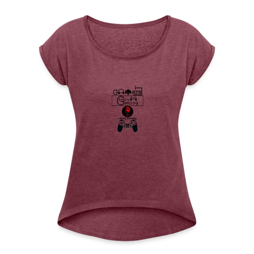 Avery Gaming Connectioner - Women's Roll Cuff T-Shirt