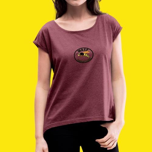 Wasp-NB - Women's Roll Cuff T-Shirt