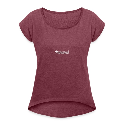 Panamá - Women's Roll Cuff T-Shirt
