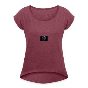 HEADPHONE - Women's Roll Cuff T-Shirt