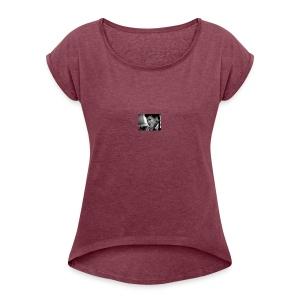 Sanaa Monae Maya Angelou Collection - Women's Roll Cuff T-Shirt