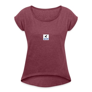 DWOPE BWOYZ - Women's Roll Cuff T-Shirt
