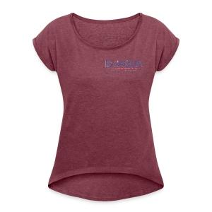 bioaqua no.1 logo - Women's Roll Cuff T-Shirt