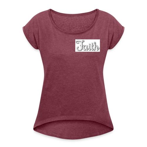 Faith products - Women's Roll Cuff T-Shirt