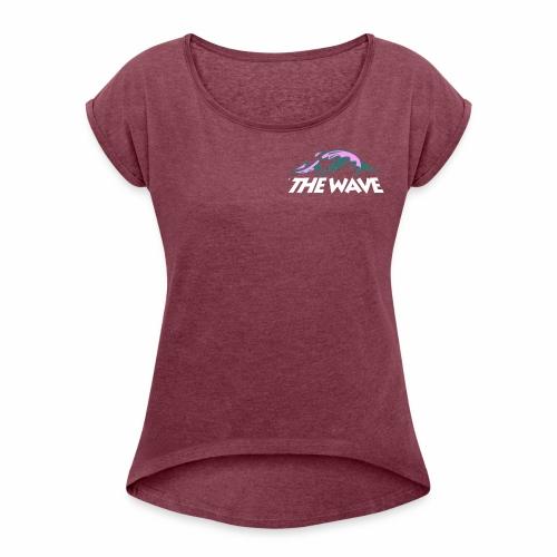 WHITE - Women's Roll Cuff T-Shirt