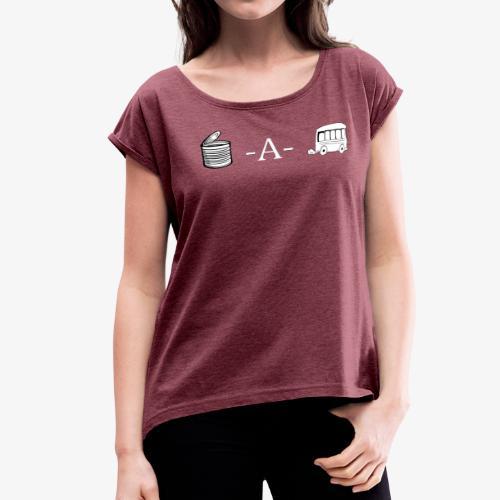 Cannabis Wordplay - Women's Roll Cuff T-Shirt