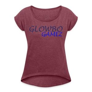 GlowBo's : The Fancy Fashion! - Women's Roll Cuff T-Shirt