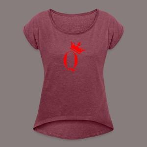 Q - Women's Roll Cuff T-Shirt