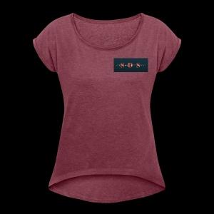 Secure Document Serving 1 - Women's Roll Cuff T-Shirt