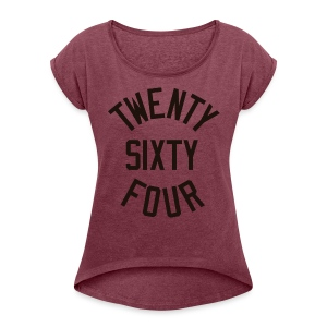 Twenty Sixty Four - Women´s Roll Cuff T-Shirt