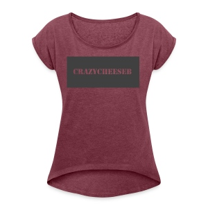 Merch Logo - Women's Roll Cuff T-Shirt