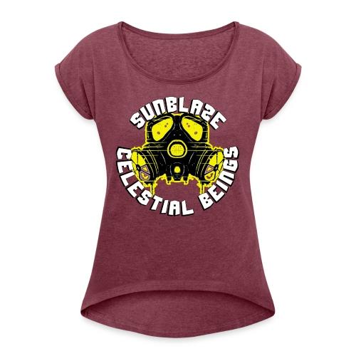 SUNBLAZE X YELLOWJACKET LOGO T SHIRT - Women's Roll Cuff T-Shirt