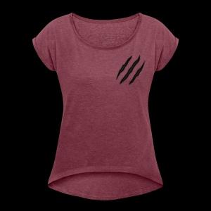 E2THREE - Women's Roll Cuff T-Shirt
