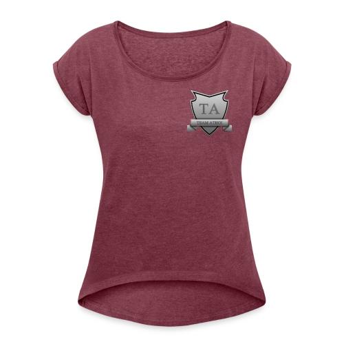 Team Athoi - Women's Roll Cuff T-Shirt