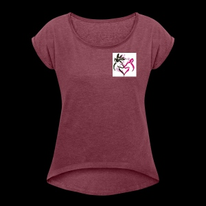 IMG 0188 - Women's Roll Cuff T-Shirt