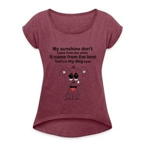 mybest - Women's Roll Cuff T-Shirt