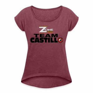 Team Castillo - Women's Roll Cuff T-Shirt