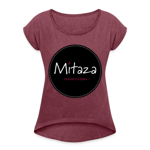 MITAZA - Women's Roll Cuff T-Shirt