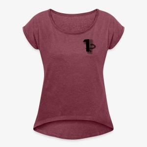 Number Gang Logo - Women's Roll Cuff T-Shirt