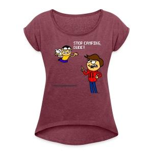 Valentines Day Shirt - Women's Roll Cuff T-Shirt
