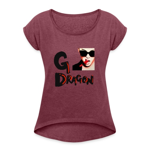 GDragon - Women's Roll Cuff T-Shirt