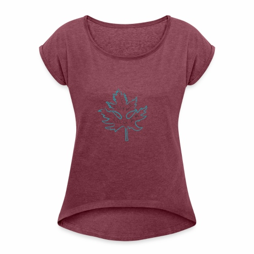 Silver Maple Lager - Women's Roll Cuff T-Shirt