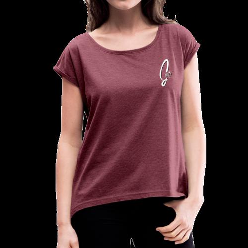 GMTheProudcer - Women's Roll Cuff T-Shirt