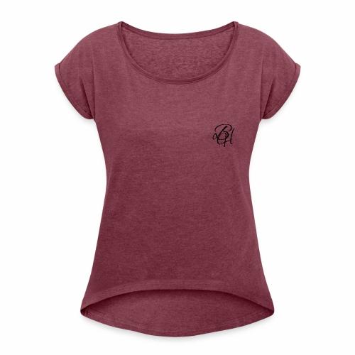 Casual logo - Women's Roll Cuff T-Shirt
