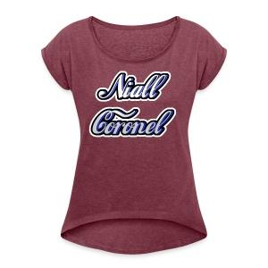 Niall - Women's Roll Cuff T-Shirt