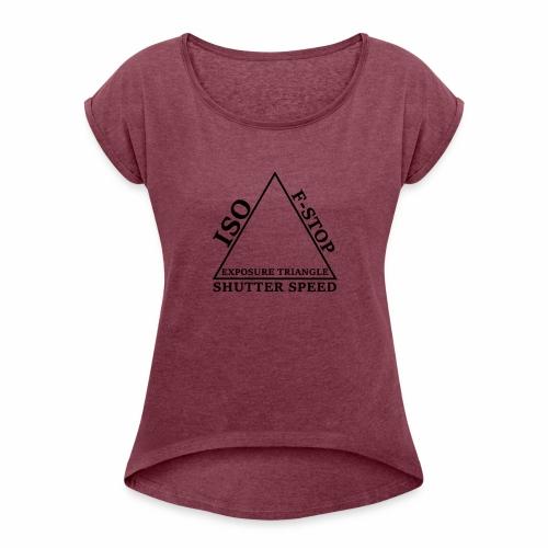 Exposure - Women's Roll Cuff T-Shirt